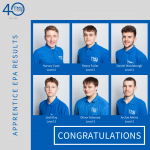 Congratulations to our Level 2 and Level 3 Apprentices